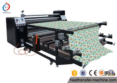 Çin Sturdy Structure 6 Feet Roller Heat Transfer Printing For Sublimation Soccer Uniformson sales